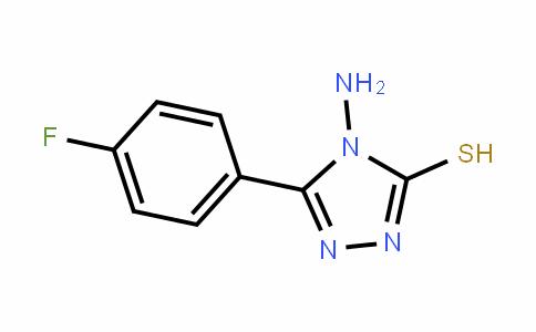 61019-25-8 | 4-Amino-5-(4-fluorophenyl)-4H-1,2,4-triazole-3-thiol