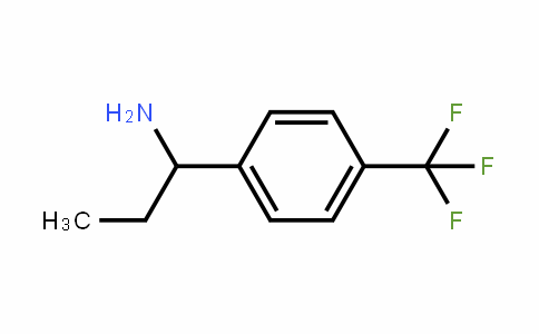 439811-20-8 | 1-[4-(Trifluoromethyl)phenyl]propylamine