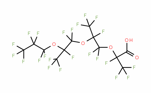 65294-16-8 | Perfluoro-2,5,8-trimethyl-3,6,9-trioxadodecanoic acid