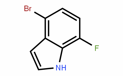 883500-66-1 | 4-Bromo-7-fluoro-1H-indole