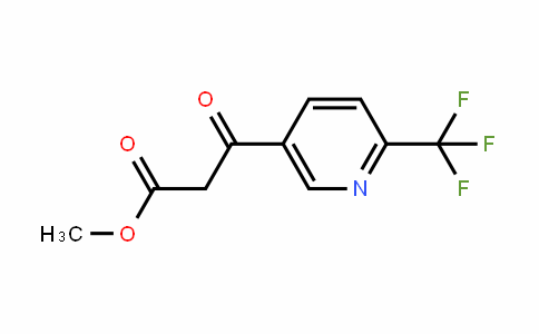 386704-15-0 | Methyl 6-(trifluoromethyl)nicotinoylacetate