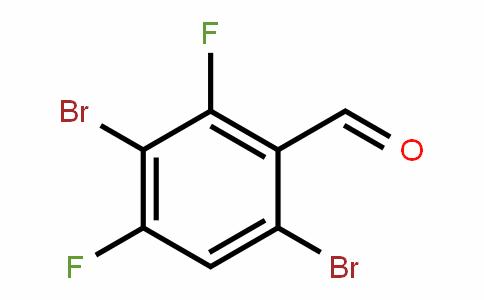 80029-43-2 | 3,6-Dibromo-2,4-difluorobenzaldehyde