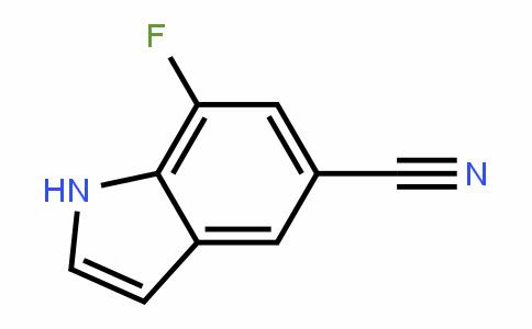 883500-88-7 | 7-Fluoro-1H-indole-5-carbonitrile