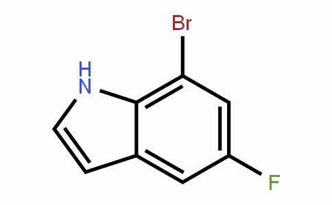 408355-23-7 | 7-Bromo-5-fluoro-1H-indole