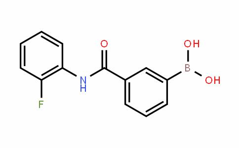 874288-35-4   3-[(2-Fluorophenyl)carbamoyl]benzeneboronic acid
