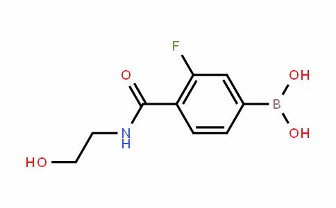874289-21-1 | 3-Fluoro-4-[(2-hydroxyethyl)carbamoyl]benzeneboronic acid