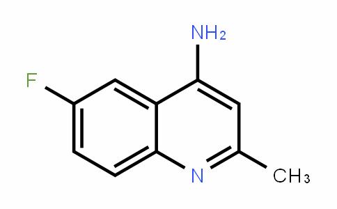 288151-49-5 | 4-Amino-6-fluoro-2-methylquinoline