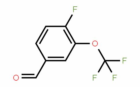 86256-48-6 | 4-Fluoro-3-(trifluoromethoxy)benzaldehyde