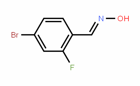 202865-64-3 | 4-Bromo-2-fluorobenzaldoxime