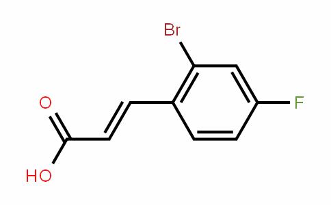 289038-17-1 | 2-Bromo-4-fluorocinnamic acid