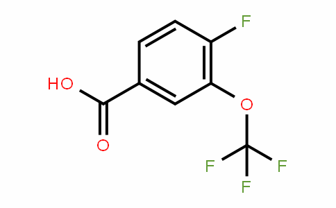 886496-49-7 | 4-Fluoro-3-(trifluoromethoxy)benzoic acid