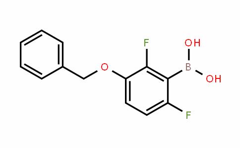 870718-07-3 | 3-(Benzyloxy)-2,6-difluorobenzeneboronic acid