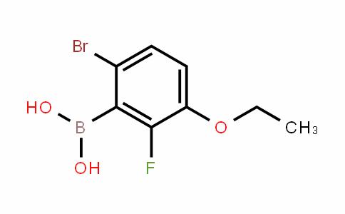 871126-14-6 | 6-Bromo-3-ethoxy-2-fluorobenzeneboronic acid