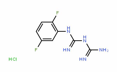 66088-53-7 | 1-(2,5-Difluorophenyl)biguanide hydrochloride
