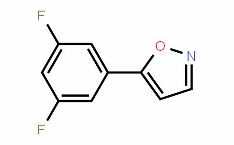 874800-58-5 | 5-(3,5-Difluorophenyl)isoxazole