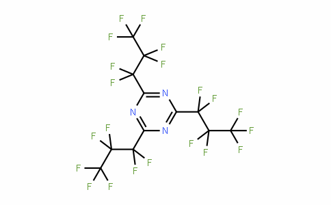 915-76-4 | 2,4,6-Tris(heptafluoropropyl)-1,3,5-triazine