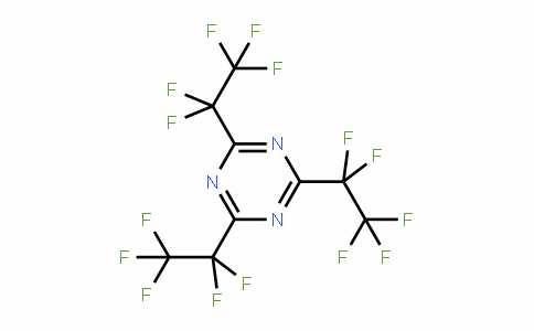 858-46-8   Tris(pentafluoroethyl)-1,3,5-triazine