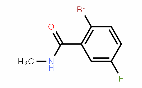 171426-13-4 | 2-Bromo-5-fluoro-N-methylbenzamide
