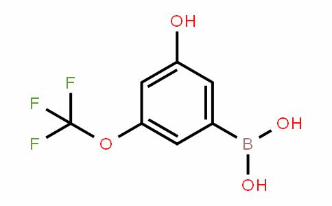 957120-22-8 | 3-Hydroxy-5-(trifluoromethoxy)benzeneboronic acid