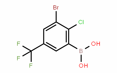 957120-85-3 | 3-Bromo-2-chloro-5-(trifluoromethyl)benzeneboronic acid