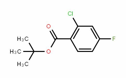 911314-43-7 | tert-Butyl 2-chloro-4-fluorobenzoate