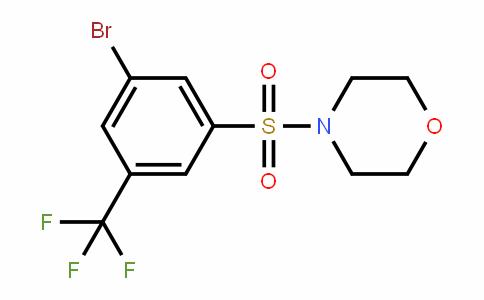 951884-77-8   4-{[3-Bromo-5-(trifluoromethyl)phenyl]sulphonyl}morpholine