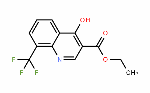 23851-84-5 | Ethyl 4-hydroxy-8-(trifluoromethyl)quinoline-3-carboxylate