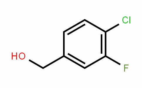 202925-10-8 | 4-Chloro-3-fluorobenzyl alcohol