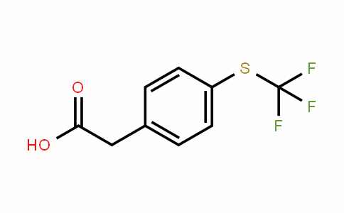 243977-23-3 | 4-[(Trifluoromethyl)thio]phenylacetic acid