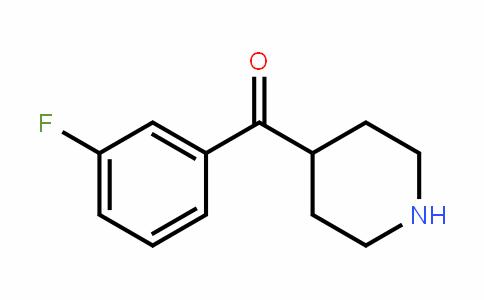 639468-63-6 | 4-(3-Fluorobenzoyl)piperidine