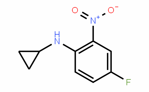 887351-37-3 | N-Cyclopropyl-4-fluoro-2-nitroaniline