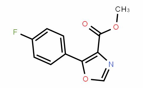 89204-90-0 | Methyl 5-(4-fluorophenyl)-1,3-oxazole-4-carboxylate