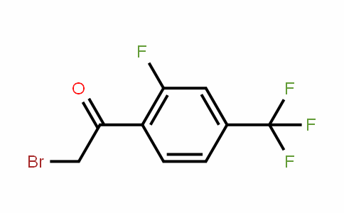 537050-12-7 | 2-Fluoro-4-(trifluoromethyl)phenacyl bromide