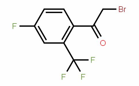 537050-13-8 | 4-Fluoro-2-(trifluoromethyl)phenacyl bromide
