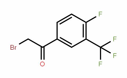 537050-14-9 | 4-Fluoro-3-(trifluoromethyl)phenacyl bromide