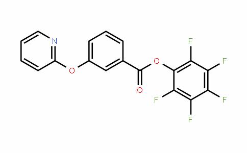 921938-61-6 | Pentafluorophenyl 3-(pyridin-2-yloxy)benzoate