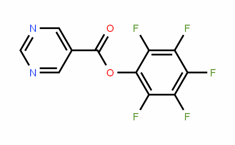 921938-48-9 | Pentafluorophenyl pyrimidine-5-carboxylate