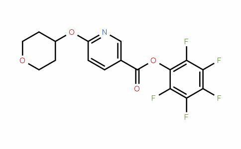 910036-96-3 | Pentafluorophenyl 6-(tetrahydropyran-4-yloxy)nicotinate