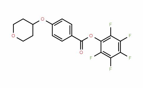 930110-97-7 | Pentafluorophenyl 4-(tetrahydropyran-4-yloxy)benzoate