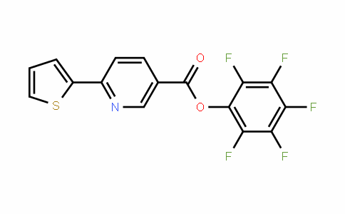 926921-59-7 | Pentafluorophenyl 6-thien-2-ylnicotinate