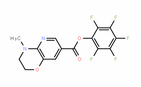 921938-83-2 | Perfluorophenyl 3,4-dihydro-4-methyl-2H-pyrido[3,2-b][1,4]oxazine-7-carboxylate