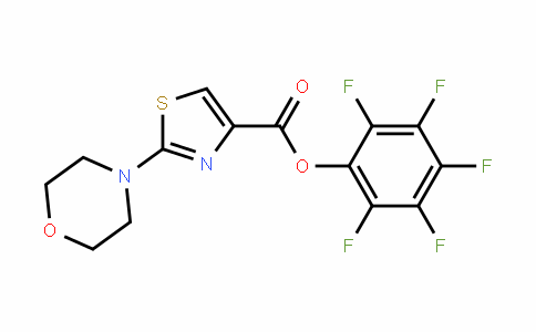 921939-02-8 | Pentafluorophenyl 2-morpholin-4-yl-1,3-thiazole-4-carboxylate