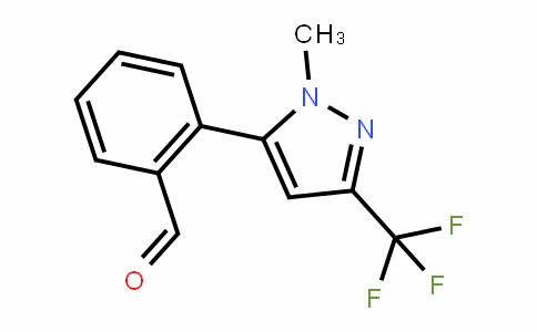 898289-61-7 | 2-[1-Methyl-3-(trifluoromethyl)-1H-pyrazol-5-yl]benzaldehyde