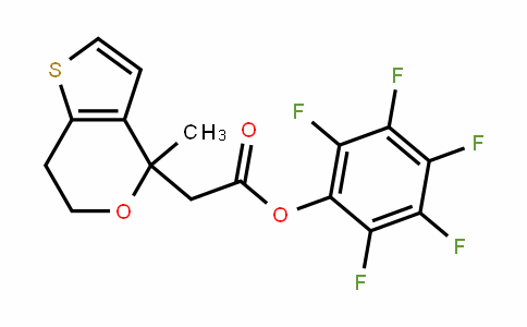 916766-89-7 | Pentafluorophenyl (6,7-dihydro-4-methyl-4H-thieno[3,2-c]pyran-4-yl)acetate