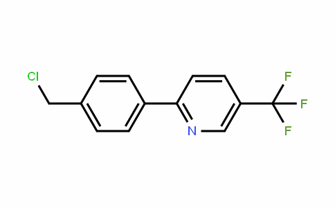 613239-76-2 | 2-[4-(Chloromethyl)phenyl]-5-(trifluoromethyl)pyridine