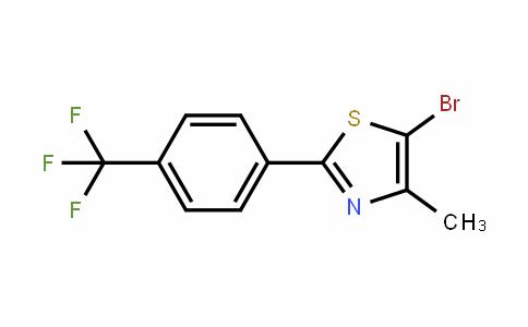 850375-27-8 | 5-Bromo-4-methyl-2-[4-(trifluoromethyl)phenyl]-1,3-thiazole