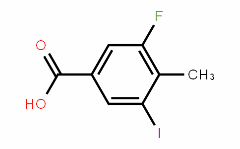 861905-94-4 | 3-Fluoro-5-iodo-4-methylbenzoic acid