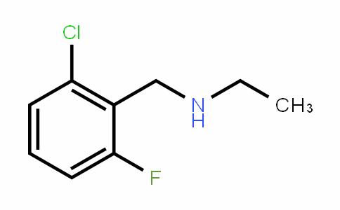 62924-59-8 | 2-Chloro-N-ethyl-6-fluorobenzylamine
