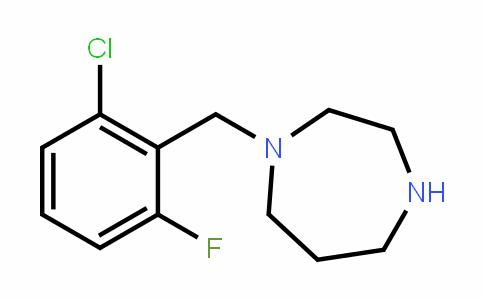 244022-69-3 | 1-(2-Chloro-6-fluorobenzyl)homopiperazine