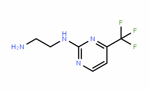 215655-29-1 | N-[4-(Trifluoromethyl)pyrimidin-2-yl]ethane-1,2-diamine